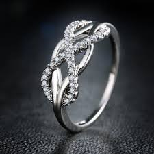 infinity diamond ring. infinity diamond ring