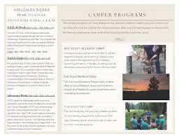 cub scout camping list summer camp camp mattatuck