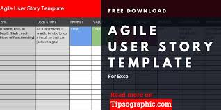 Agile Story Card Template Word User Story Template Download Magdalene Project Org