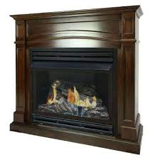 full size propane gas fireplace in cherry ventless vent free inserts n superior linear vent free fireplace