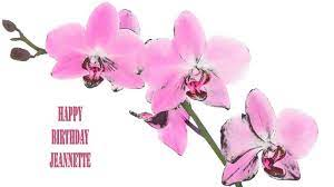 Jeannette Flowers & Flores - Happy Birthday - YouTube