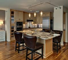 wonderful l shaped kitchen with island. Kitchen Island Light Brown Varnished Wood L Shaped Amadeus Straight Edge Granite Stone Countertop Wonderful With P