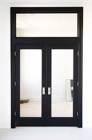 interior doors for home. Glass Interior French Doors Painted Black From Home Depot For