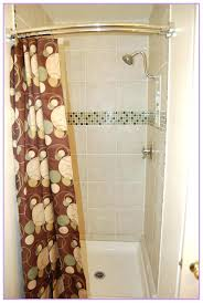 curved shower curtain rods curved no drill shower curtain tension rod