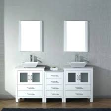 beautiful inch bathroom vanity double sink white marble set with faucet 66 bathtub x 30 do