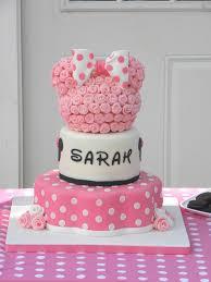 minnie mouse birthday cake idea