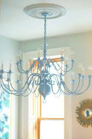 brass chandelier how to spray painting a chalk paint chandeliers maison de pax