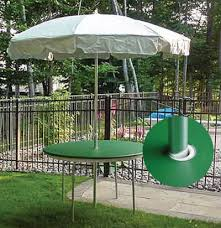 umbrella tables are no problem for plastic elastic table covers