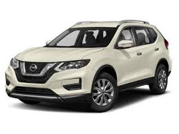 2019 pearl white tricoat nissan rogue sl 4 door automatic cvt awd