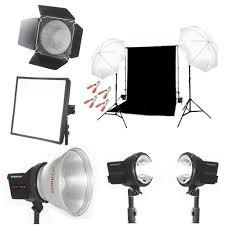 three point lighting setup kit india