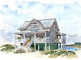 plans elevated beach house plans shining inspiration raised coastal floor narrow