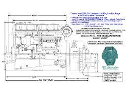 cummins qsm 11 specifications seaboard marine specifications critical dimensions qsm 450 drawing dmtp5100