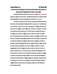an essay to trace the changes in the character of john proctor  page 1 zoom in