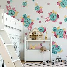 Graphic Flower Cluster Wall Decals \u2013 Project Nursery