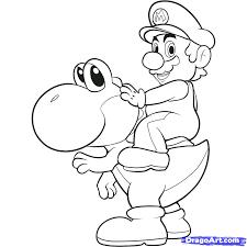 Dessins Coloriage Mario Kart Imprimer Dessiner Jeux Gratuit En