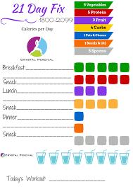 21 Day Fix Meal Plan Pdf 1200 Calories The 1200 Calorie