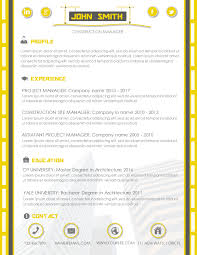 Modern Word Resume Template Construction Modern Resume Template Cv Template Cover