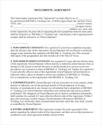 Noncompete Clause Non Compete Agreement Clause Non Compete Agreement Form Cs World