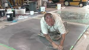 concrete resurfacing skimcoat overlay