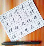 ways to write letter a