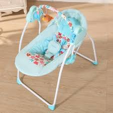 Electric Baby Cradle Swing Rocking Remote controller Chair Sleeping ...