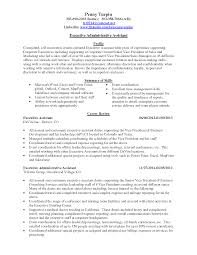 sample administrative secretary resume secretary sample resume s