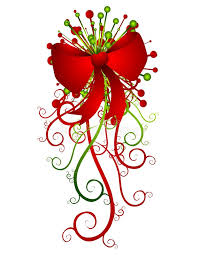 Big Red Christmas Bow And Ribbons Royalty Free Stock Image - Image ...