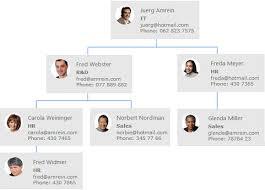 Web Organization Chart Organizational Chart Web Part