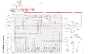 instrument cluster rev counter signal type? volvo owners club forum 1986 Volvo 240 Wiring Diagrams at Volvo 240 Instrument Cluster Wiring Diagram