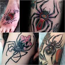 тату паук что означают татуировки с пауком