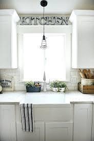 over window decor best window treatments above kitchen sink ideas