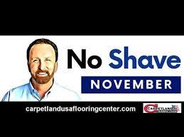 no shave november by carpetland usa