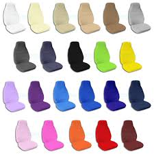 solid color car seat covers