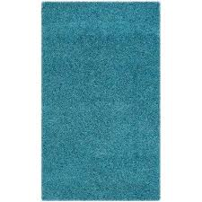 laa turquoise 2 ft x 4 ft area rug