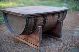 Wine Barrel Kitchen Table Wine Barrel Table Etsy