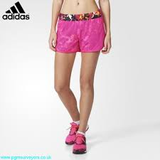 womens shorts absolutely adidas m10 shock shorts pink blue graphic glow bcghimrs89