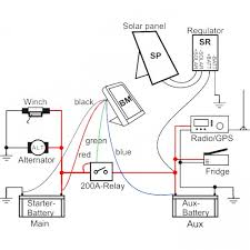 ibs dbs dual battery system with microprocessor sierra expeditions Ironman Winch Wiring Diagram Ironman Winch Wiring Diagram #64 ironman winch solenoid wiring diagram