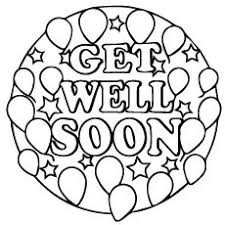 Top 25 Free Printable Get Well Soon Coloring Pages Online U C