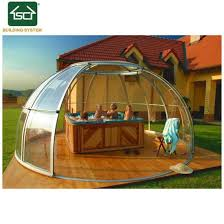 hot safety telescopic spa pool cover automatic polycarbonate hot tub cover