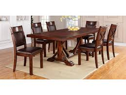 Warehouse M Adirondack 7 Piece Dining Table Set With Trestle Table