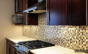 kitchen glass mosaic backsplash. Kitchen:Kitchen Glass Mosaic Backsplash Amazing Kitchen Espresso Cabinets Dark Brown Cabinet E