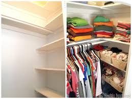 add custom diy shelving to your builder basic closet and get so much