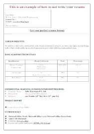 Curriculum Vitae Download In Ms Word | Malawi Research