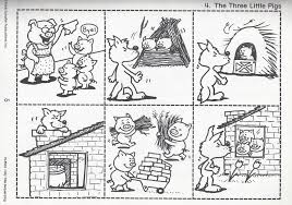 The 3 Little Pigs | sequence | dbsenk.wordpress.com | Les 3 petits ...