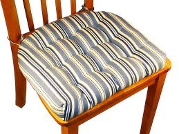 chair awesome engaging natural bistro chair cushion stripped navy blue design for wooden dining with ties set brown table outdoor cushions clearance