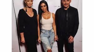 make up master cl in dubai with lorelli macaulay kim kardashian and mario dedivanovic