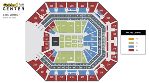 Golden One Seating Chart With Rows Eric Church Golden1center