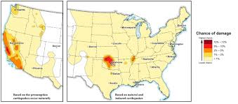 — new usgs earthquake hazard map includes fracking