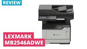 Printerland Review: <b>Lexmark</b> MB2546 A4 <b>Mono Multifunction Laser</b> ...