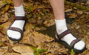 Image result for tevas with white socks
